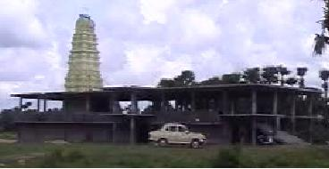 Southern Side View of Sre Kagabujandar Guru Temple