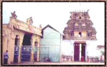 The External View of Vilakkoli Perumal Temple